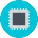 Computer Chip Integrated Icon