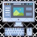 Computer Interface Photo Icon