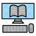 Computer Education Monitor Icon