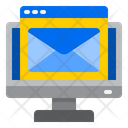 Computer Online Mail Icon