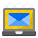 Computer Laptop Mail Icon