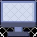 Computer Monitor Desktop Icon