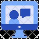 Computer Communications Desktop Icon