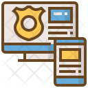 Secure Computer Icon