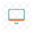 Cartoon Flat Computer Icon