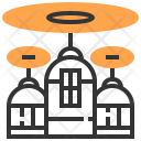 Computer Drone Electronic Icon