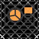 Computer Graph Tool Icon