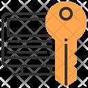 Computer Key Security Icon