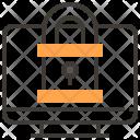 Computer Locked Password Icon