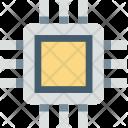 Computer Chip Memory Icon