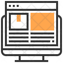 Computer Website Service Icon