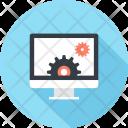Computer Content Development Icon