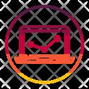 Computer Graph Diagram Icon