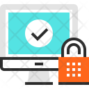 Computer Digital Security Icon