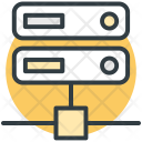 Computer Server Upload Icon