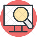 Computer Screen Magnifier Icon