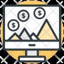 Computer Cash Interface Icon