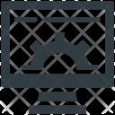 Computer Screen Hardware Icon