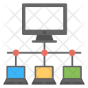 Computer Network System Icon