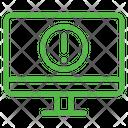 Computer Alert Icon