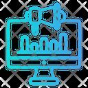 Computer Analysis Icon