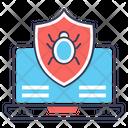 Virus Security Antivirus Internet Bug Icon