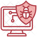 Computer Antivirus Icon
