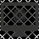 Computer Authentication Icon