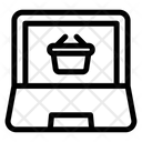 Computer Basket Icon