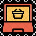 Basket Computer Screen Icon
