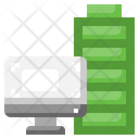 Computer Battery Full Battery Charging Status Icon