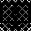 Computer Bitcoin Icon