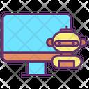 Computer Bot Icon