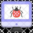 Virus Computer Bug Malware Icon