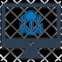 Computer bug Icon