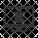 Computer Bug Fix Icon