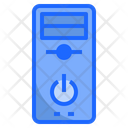 Computer Case Sever Tower Icon