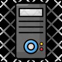Computer Case Cpu Central Processing Unit Icon