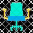 Chair Revolving Chair Office Chair Icon