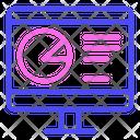 Computer Chart Icon