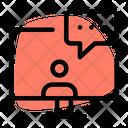 Computer Chatting Icon