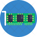 Hardware Computer Chip Icon