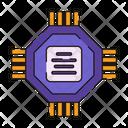 Computer Chip Microprocessor Microchip Icon
