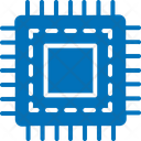 Computer Chip Cpu Integrated Circuit Icon