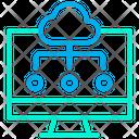 Computer Cloud Icon