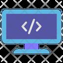 Computer Coding Icon