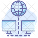 Computer Connect Network Icon