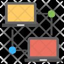 Data Synchronization Sharing Icon