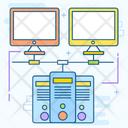 Computer Connection Data Server Hosting Dataserver Storage Icon