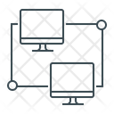 Connection Network Technology Icon Icon
